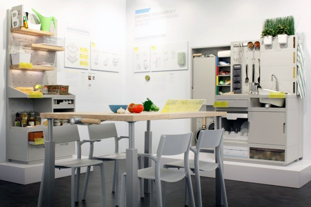 La cuisine de 2025, vue par IKEA, une... (Photo IKEA)
