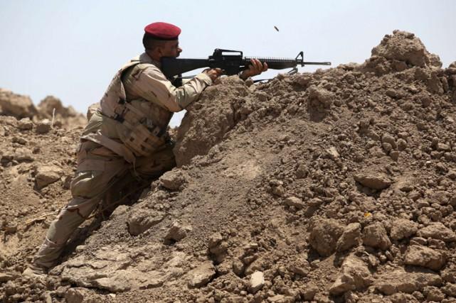 Depuis le début de l'offensive de l'EI en... (Photo: AFP)