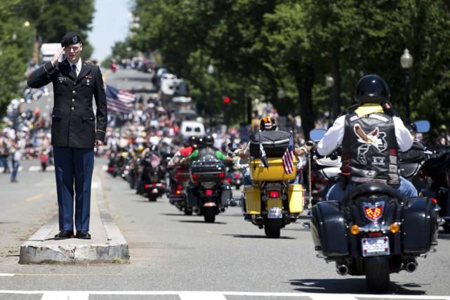Le rassemblement est aussi l'occasion de demander au... (Photo: Reuters)