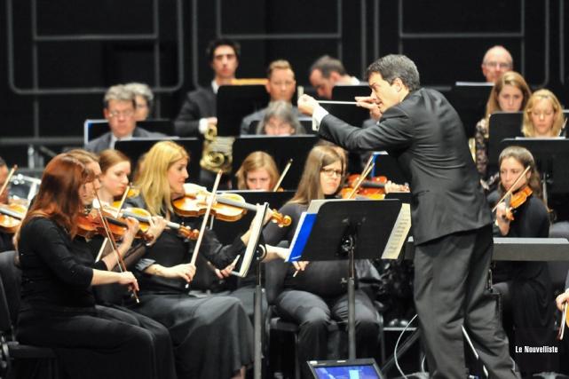 L'orchestre symphonique de Trois-Rivières a conclu sa 37e... (Photo: Émilie O'Connor, Le Nouvelliste)