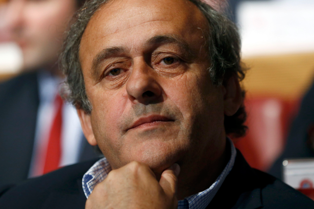 Le président de l'UEFA, Michel Platini.... (Photo Denis Balibouse, Reuters)
