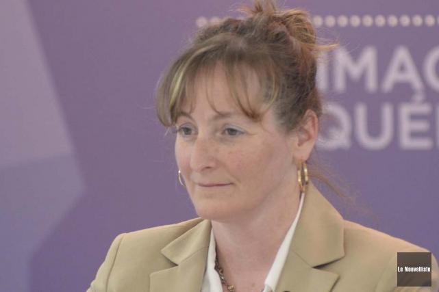 Me Lucie Fiset, présidente de la Commission de... (Photothèque Le Nouvelliste)