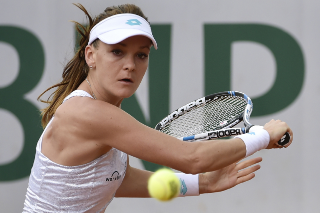 Agnieszka Radwanska... (Photo Dominique Faget, AFP)