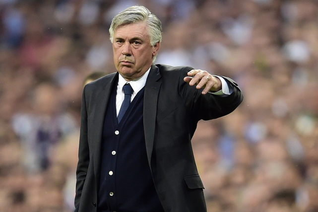 L'entraîneur du Real Madrid, Carlo Ancelotti.... (Photo Gérard Julien, AFP)