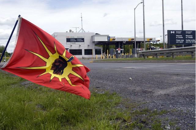 Le Conseil mohawk d'Akwesasne affirme que le gouvernement fédéral lui a offert... (Photo d'archives, La Presse Canadienne)