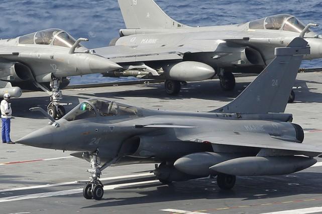 Les forces aériennes de plusieurs pays nordiques et de l'OTAN ont commencé... (Archives Reuters)
