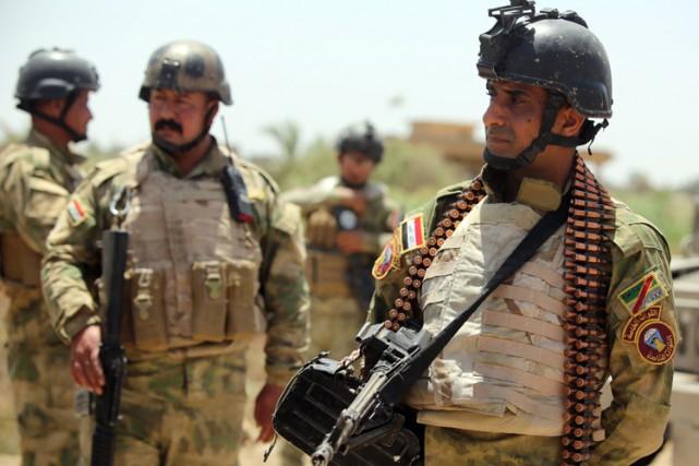 Alors que l'EI s'est emparé le 17 mai... (Photo: AFP)