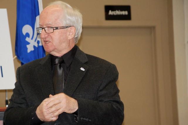 Le maire d'Amqui Gaëtan Ruest... (Collaboration spéciale Johanne Fournier)