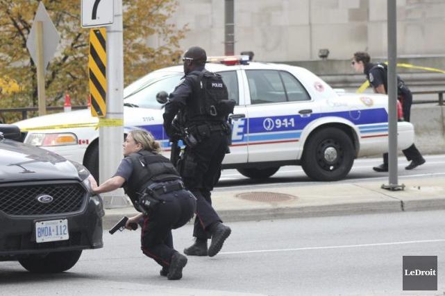Le Service de police d'Ottawa était mal préparé... (PHOTO ÉTIENNE RANGER, LEDROIT)