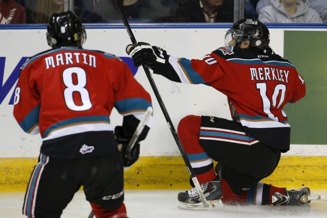 Nick Merkley, un espoir classé au 23e rang... (Photo: Reuters)