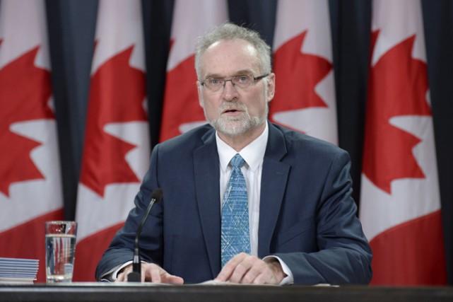 Le vérificateur général, Michael Ferguson, affirme que les... (PHOTO ADRIAN WYLD, ARCHIVES LA PRESSE CANADIENNE)
