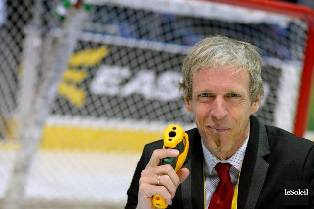 François Martindale, responsable de la patinoire du Centre... (Le Soleil, Erick Labbé)
