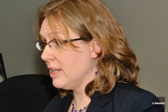 La directrice régionale de la Santé publique, Dre... (Photo: Émilie O'Connor, Le Nouvelliste)