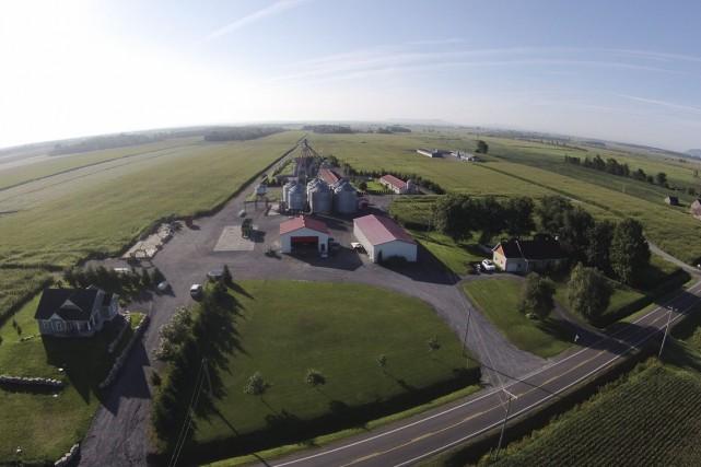 Grâce aux images qu'il fournit, le drone permet... (PHOTO FOURNIE PAR ALEX BENOIT)