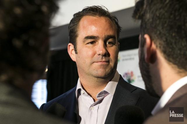 Geoff Molson affirme que les partenaires d'evenko démontrent... (Photo: Hugo-Sébastien Aubert, La Presse)
