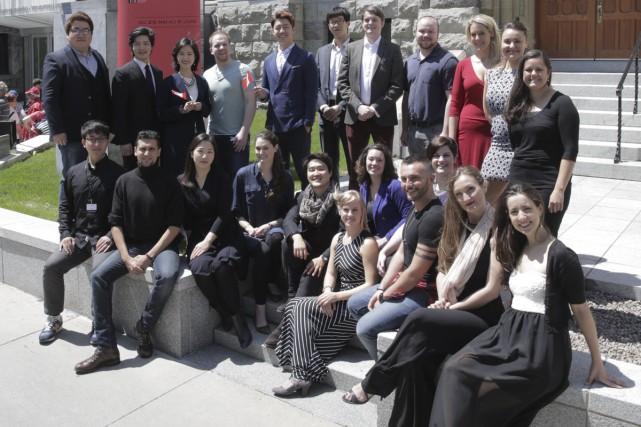 Le 14e Concours musical international de Montréal réunit... (Photo: fournie par le CMIM)