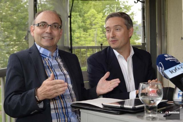 Yvon Boivin a confirmé sa candidature pour le... (Photo: Sylvain Mayer, Le Nouvelliste)