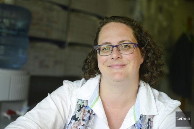 Isabelle Miron est la nouvelle directrice générale de... (Martin Roy, Archives Le Droit)