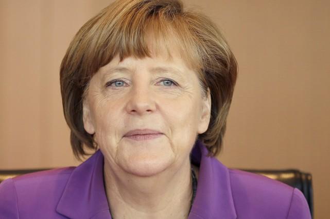 La chancelière allemande Angela Merkel reste pour la... (PHOTO MICHAEL SOHN, AP)