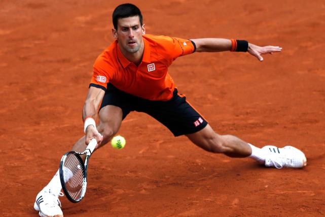 Le numéro 1 mondial Novak Djokovic a signé... (Photo Pascal Rossignol, Reuters)