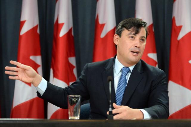 Le député conservateur Michael Chong... (Photo archives La Presse Canadienne)