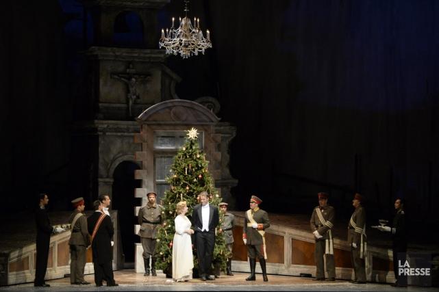 La dernière production de l'Opéra de Montréal: Silent... (PHOTO BERNARD BRAULT, ARCHIVES LA PRESSE)