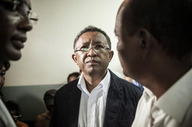 Le président Hery Rajaonarimampianina avait promis à la... (PHOTO RIJASOLO, AFP)