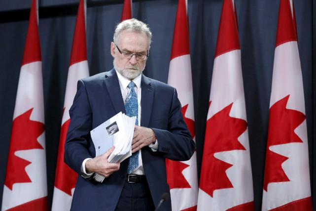 MichaelFerguson a défendu les dépenses encourues par son... (Photo: Reuters)