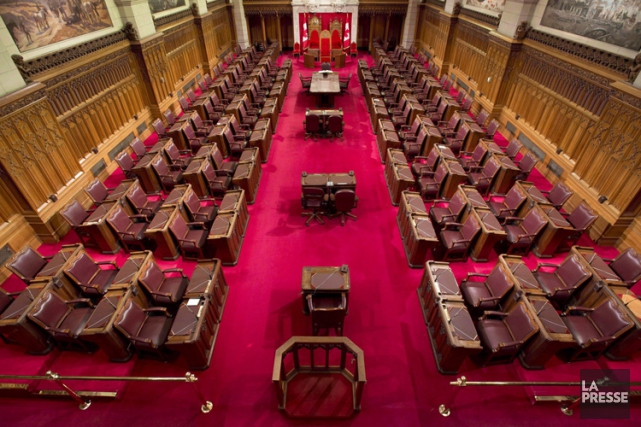 La chambre du Sénat sur la colline parlementaire.... (Photo: PC)