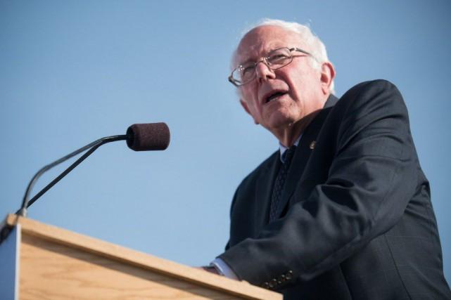 Le sénateur américain Bernie Sanders... (Photo Andy Duback, AP)