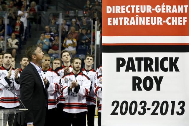 Patrick Roy a passé dix ans avec les... (Photo: Reuters)