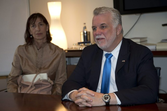 Philippe Couillard... (PHOTO ALESSANDRA TARANTINO, ASSOCIATED PRESS)