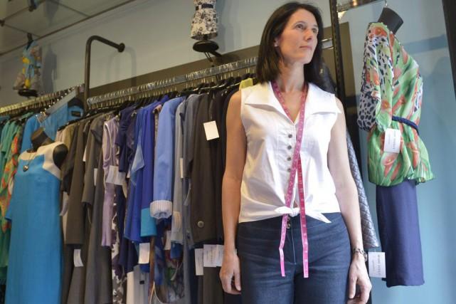 La designer Marie Dooley... (Le Soleil, Yan Doublet)