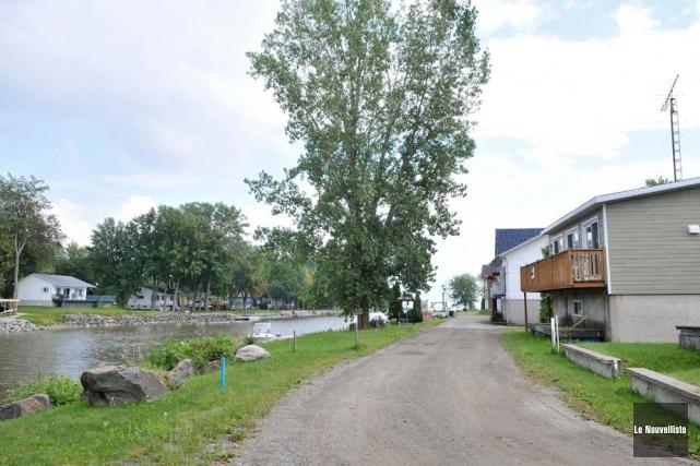 L'avenue du lac Saint-Pierre Ouest, qui est le... (Photo: Émilie O'Connor, Le Nouvelliste)