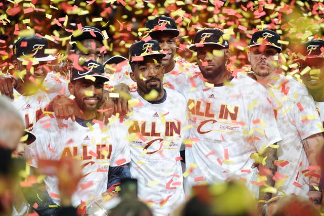 Les Cavaliers de Cleveland ont balayé les Hawks... (Photo Ken Blaze, USA Today)