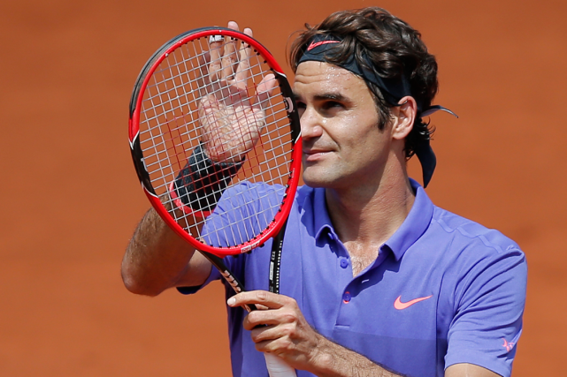 Roger Federer... (Photo Christophe Ena, AP)