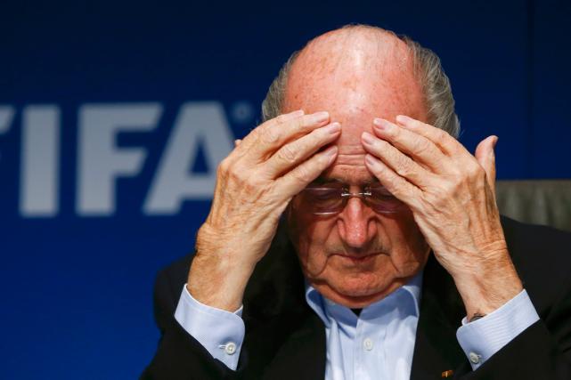 Le président de la FIFA,Joseph Blatter.... (Photo Arnd Wiegmann, archives Reuters)