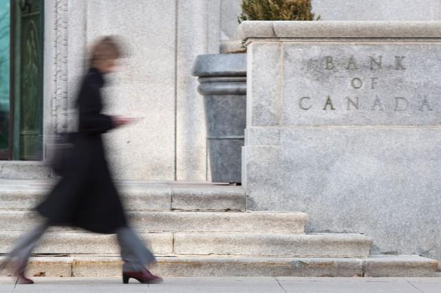 Comme les économistes le prévoyaient, la banque a... (PHOTO GEOFF ROBINS, ARCHIVES AFP)