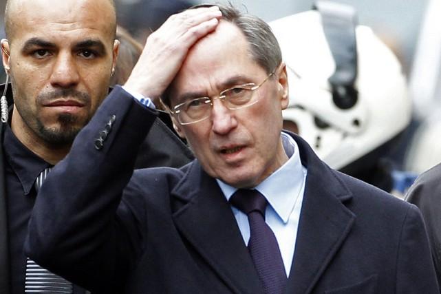 Claude Guéant, ministre de l'Intérieur en 2011-2012,devra répondre... (PHOTO JEAN-PAUL PELISSIER, ARCHIVES REUTERS)