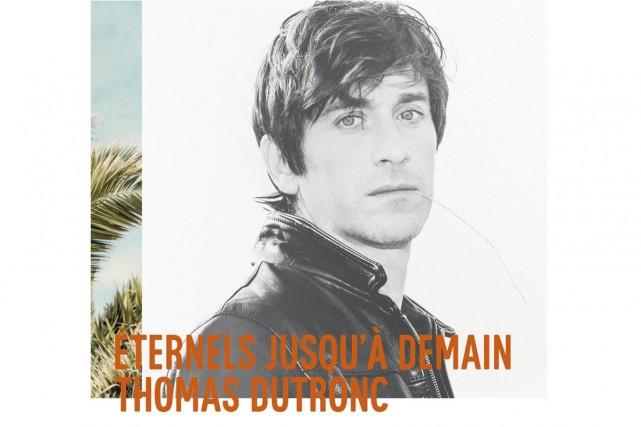 Le chanteur à succès français Thomas Dutronc délaisse le badinage, sur son...