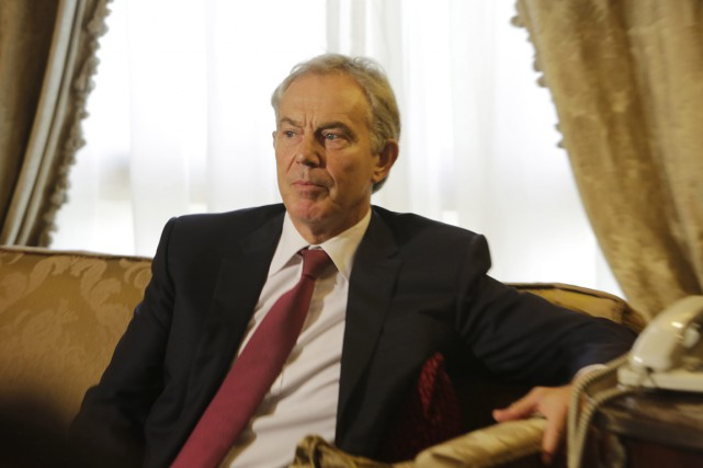 Tony Blair a été nommé à son poste... (PHOTO AMR NABIL, ARCHIVES AP)