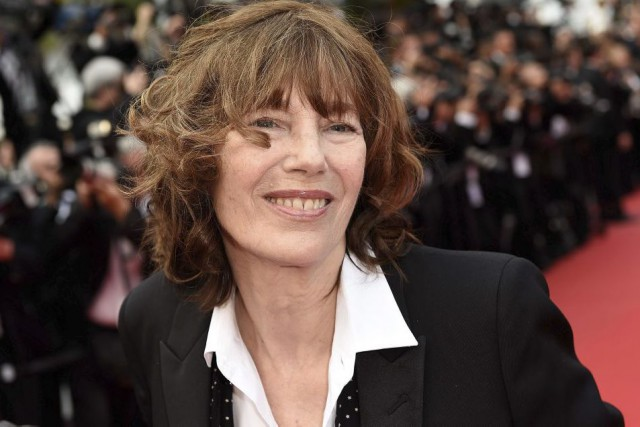 Jane Birkin lors de son passage à Cannes... (Photo: AFP)