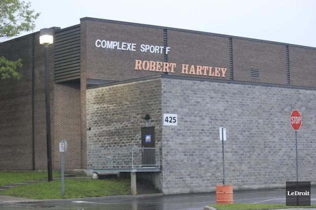 La patinoire 1 du complexe sportif Robert Hartley... (Martin Brunette, LeDroit)