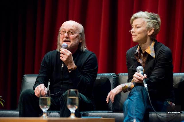 Jim Corcoran et Louise Lecavalier sont les porte-parole... (Archives La Tribune)