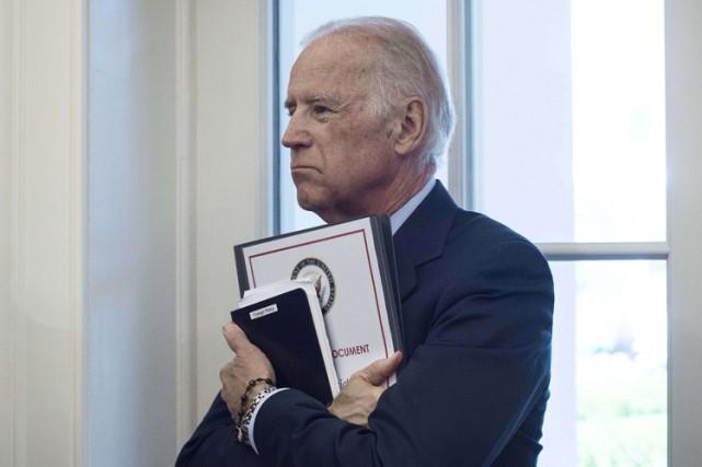 Joe Biden a exhorté les dirigeants européens à... (Photo: AFP)
