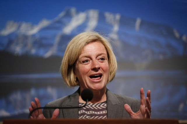 Rachel Notley a affirmé que son gouvernement n'avait... (Photo Jeff McIntosh, La Presse canadienne)