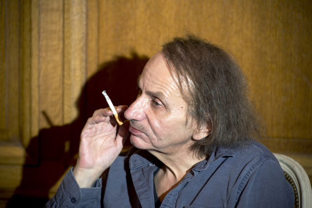 Michel Houellebecq... (PHOTO ARCHIVES AFP)