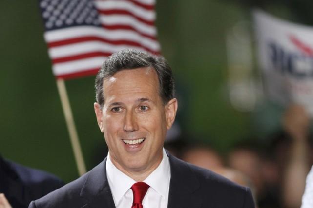 Rick Santorum pourrait ainsi ne même pas être... (Photo: Reuters)