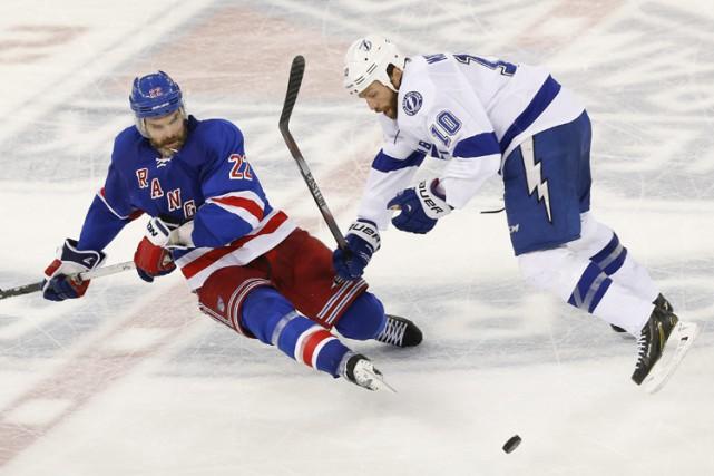 Les Rangers et le Lightning auront besoin d'un septième match pour régler la... (Photo: AP)