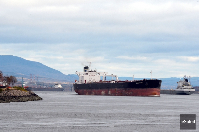 Des données montrent qu'en 2013, les navires qui... (Photothèque Le Soleil, Erick Labbé)